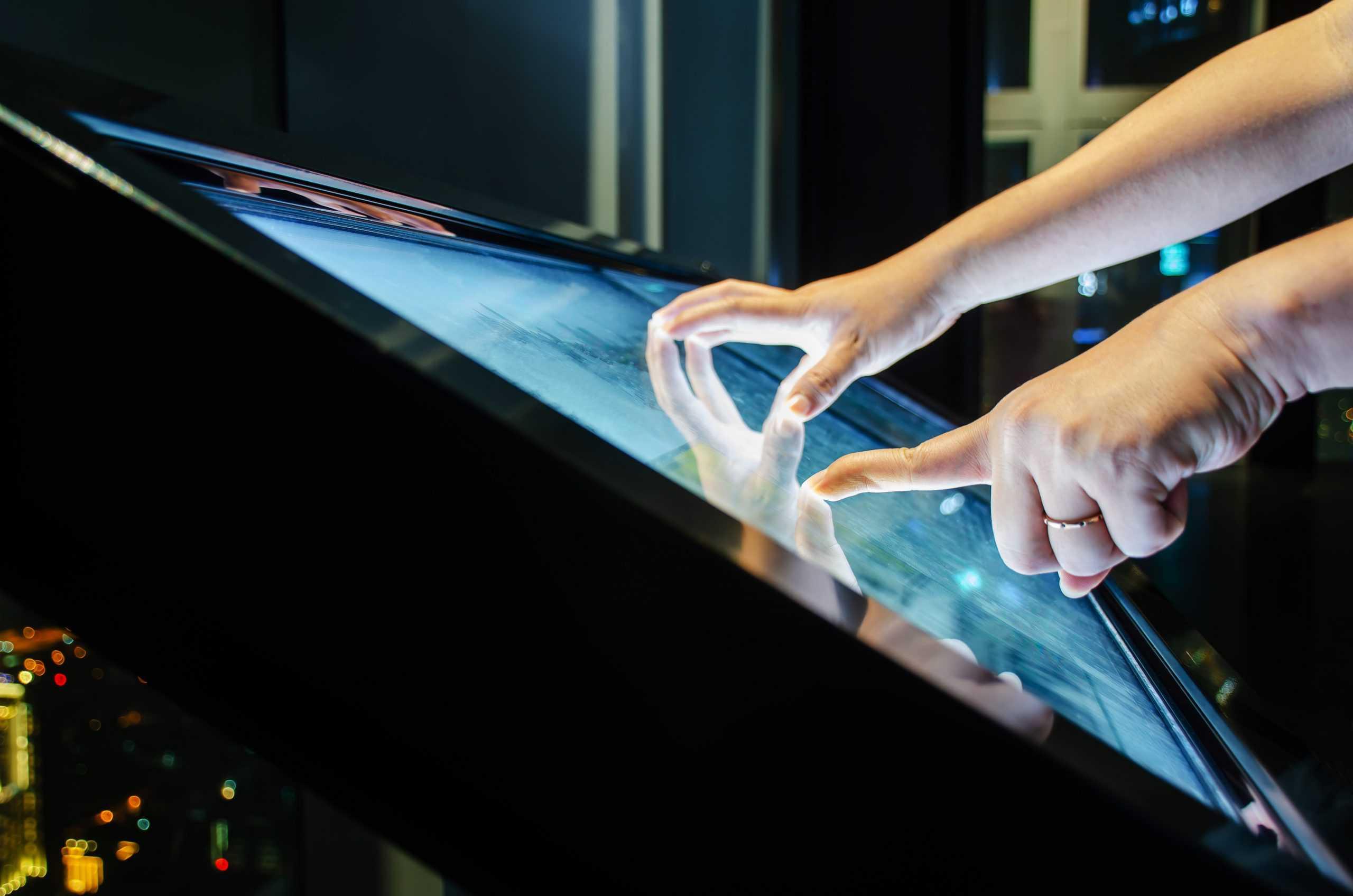 Custom LCD display